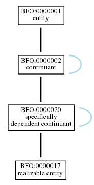Graph of BFO:0000017