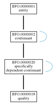 Graph of BFO:0000019